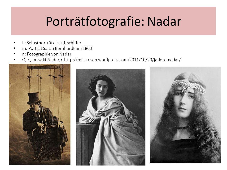 Porträtfotografie: Nadar