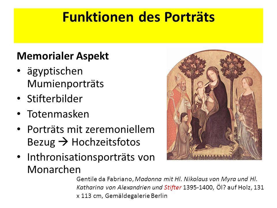 Funktionen des Porträts