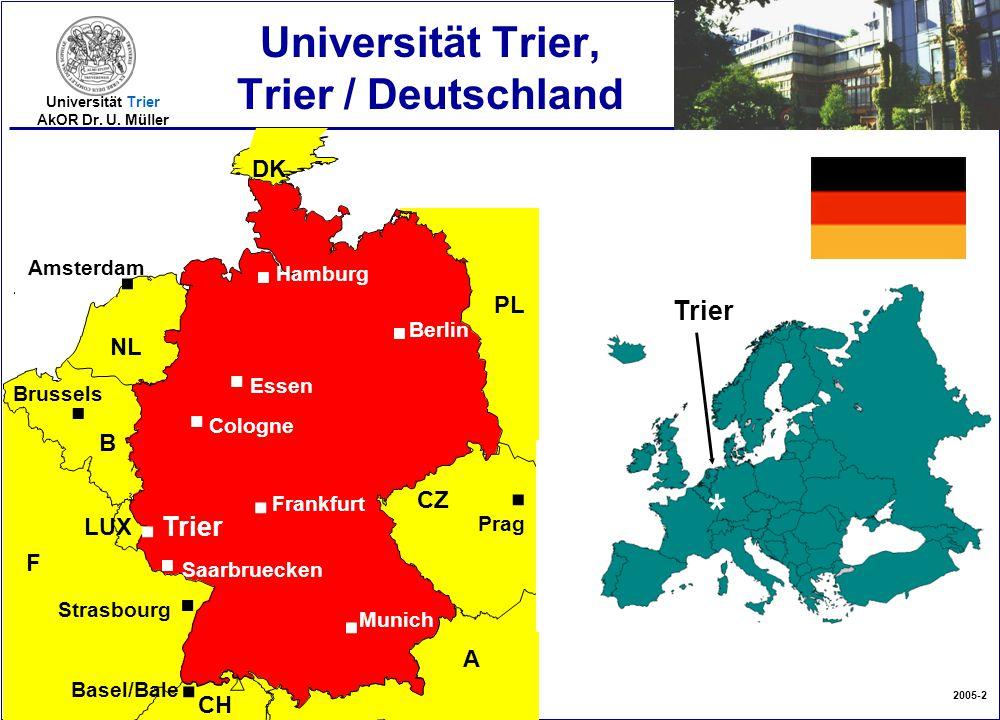 Universität Trier, Trier / Deutschland