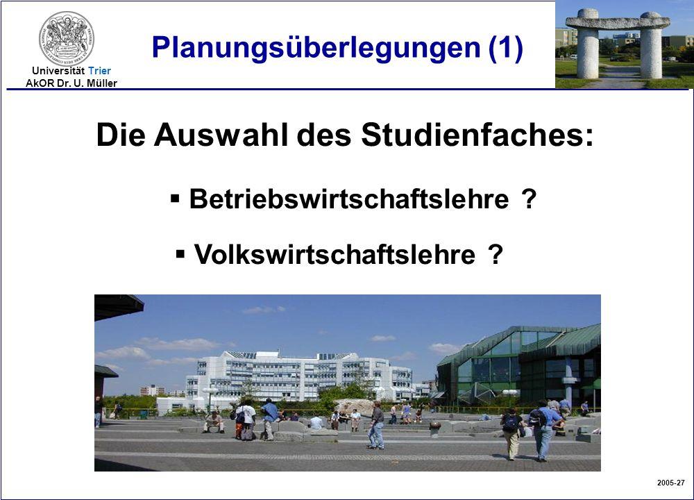Planungsüberlegungen (1)