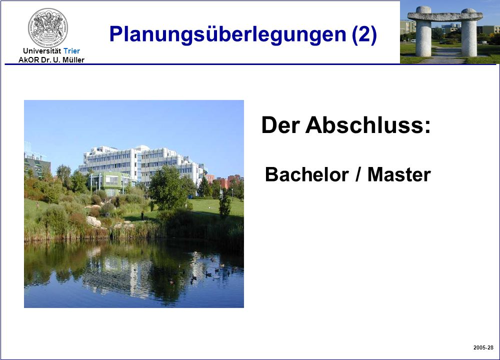 Planungsüberlegungen (2)