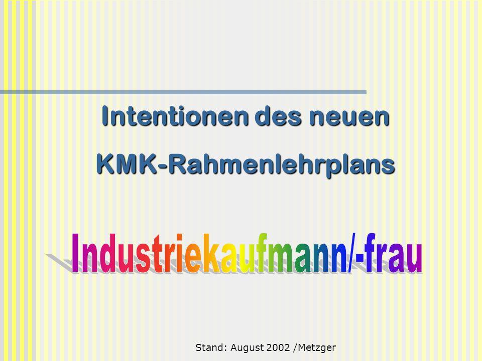 Intentionen des neuen KMK-Rahmenlehrplans