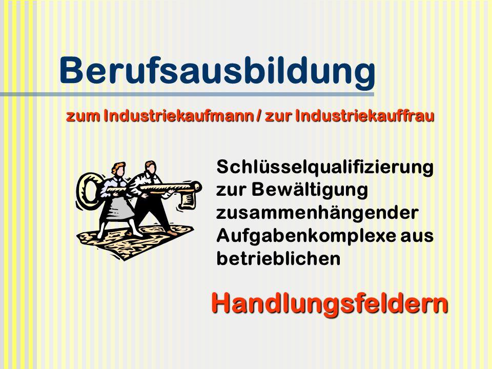 zum Industriekaufmann / zur Industriekauffrau