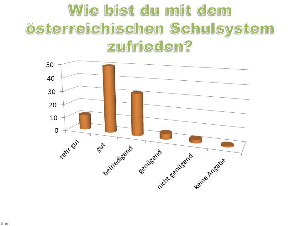 Wie bist du mit dem österreichischen Schulsystem zufrieden