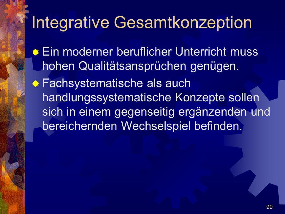 Integrative Gesamtkonzeption