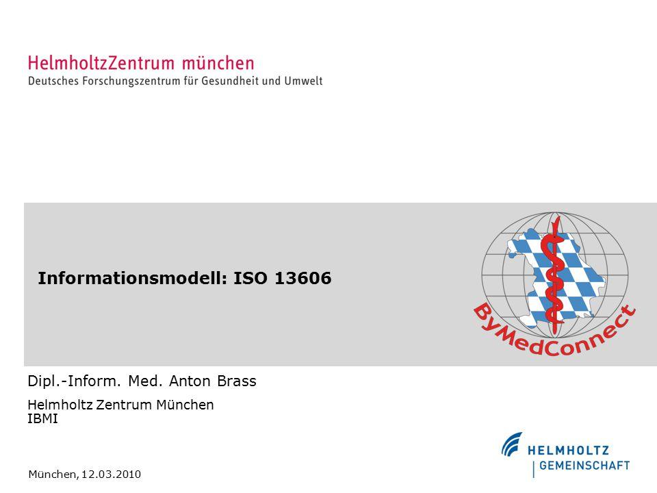 Informationsmodell: ISO 13606