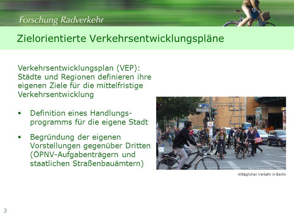 Zielorientierte Verkehrsentwicklungspläne