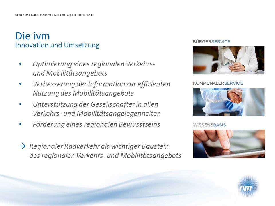 Die ivm Innovation und Umsetzung