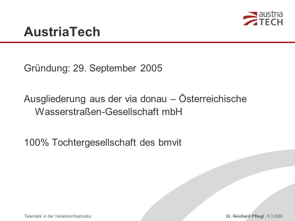 AustriaTech Gründung: 29. September 2005