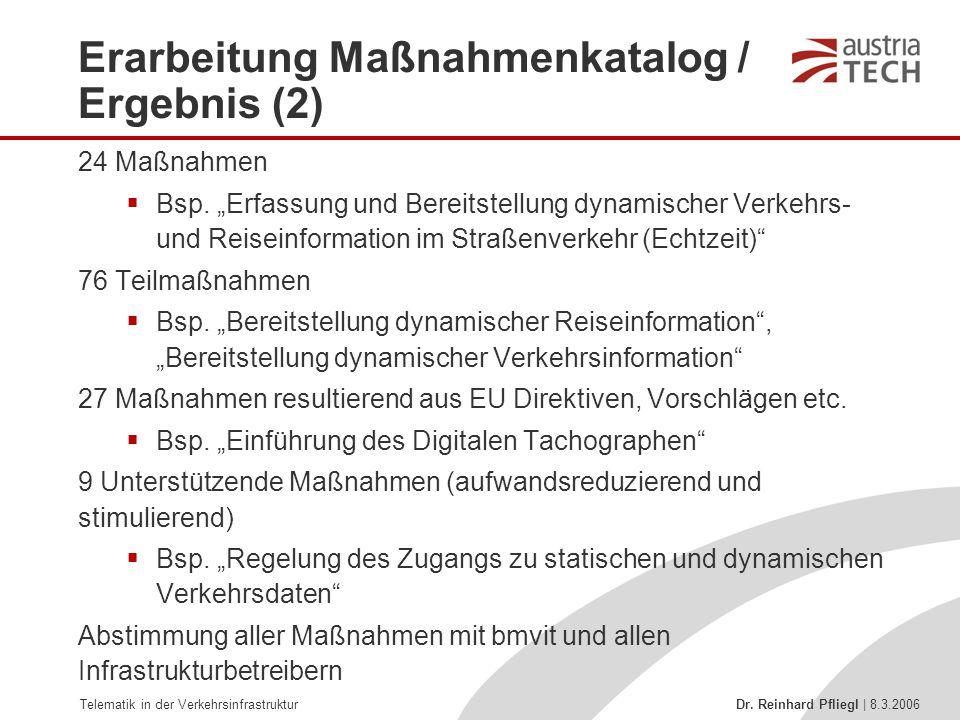 Erarbeitung Maßnahmenkatalog / Ergebnis (2)