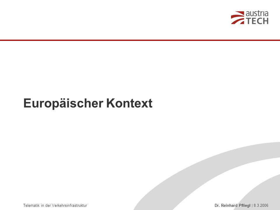 Europäischer Kontext