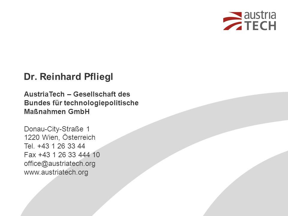 Dr. Reinhard Pfliegl
