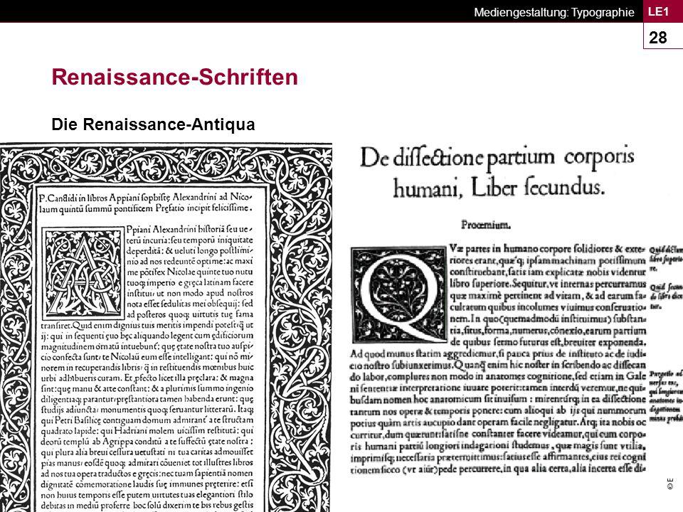 Renaissance-Schriften