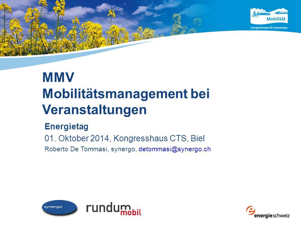 MMV Mobilitätsmanagement bei Veranstaltungen