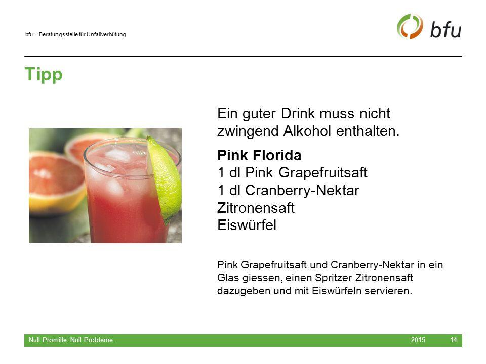 Tipp Ein guter Drink muss nicht zwingend Alkohol enthalten.