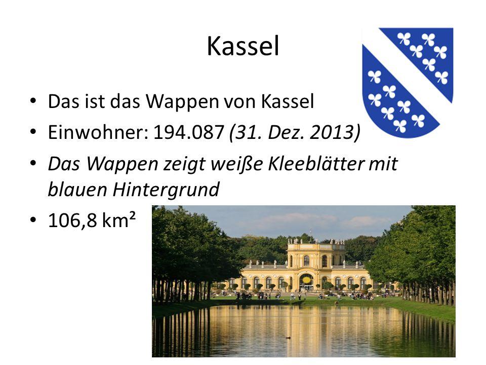Kassel Das ist das Wappen von Kassel