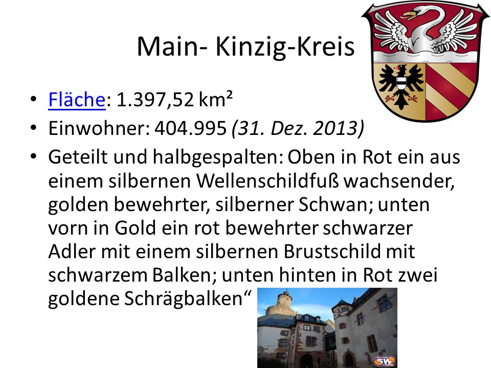 Main- Kinzig-Kreis Fläche: 1.397,52 km²