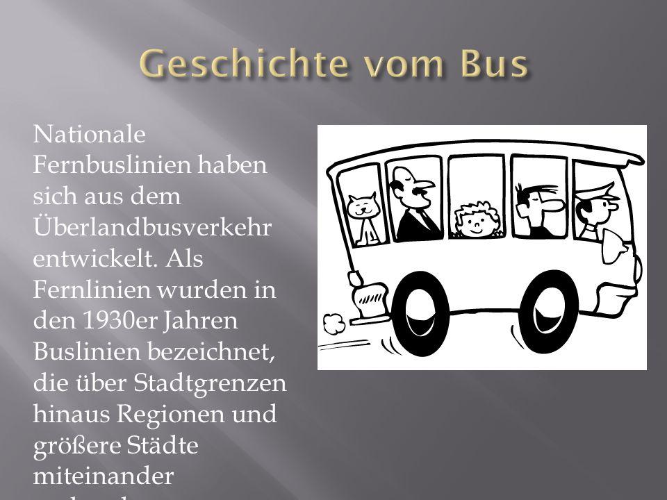 Geschichte vom Bus