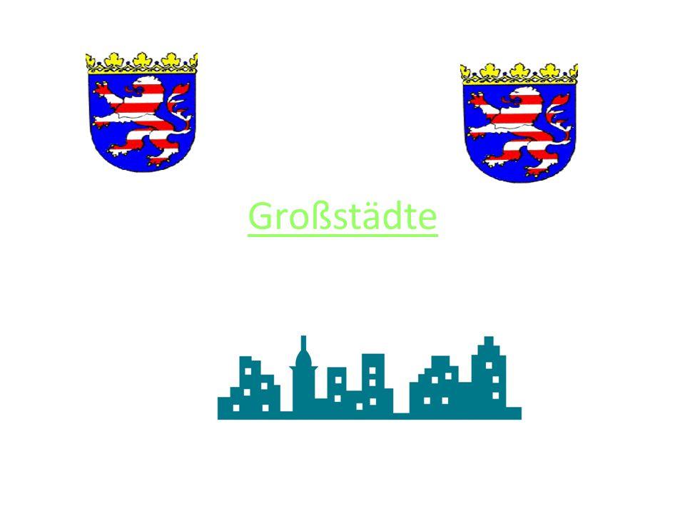 Großstädte