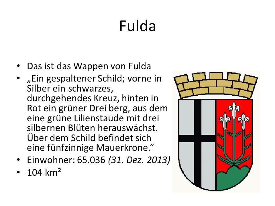 Fulda Das ist das Wappen von Fulda