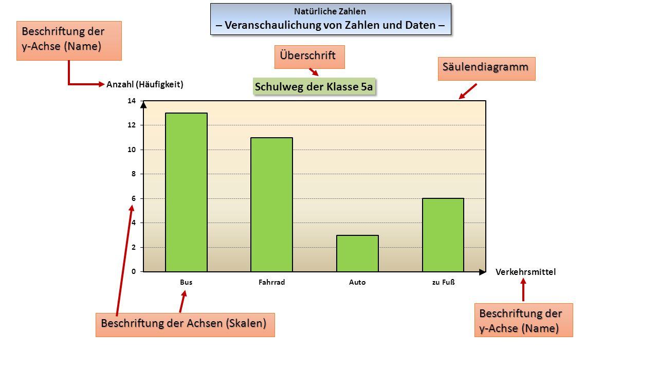 – Veranschaulichung von Zahlen und Daten –