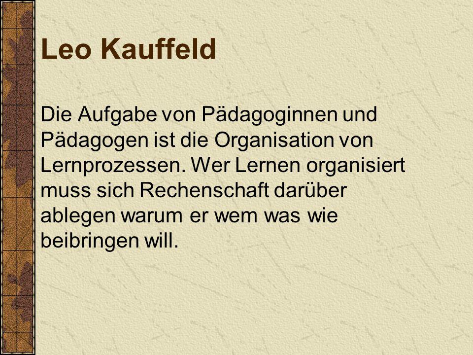 Leo Kauffeld