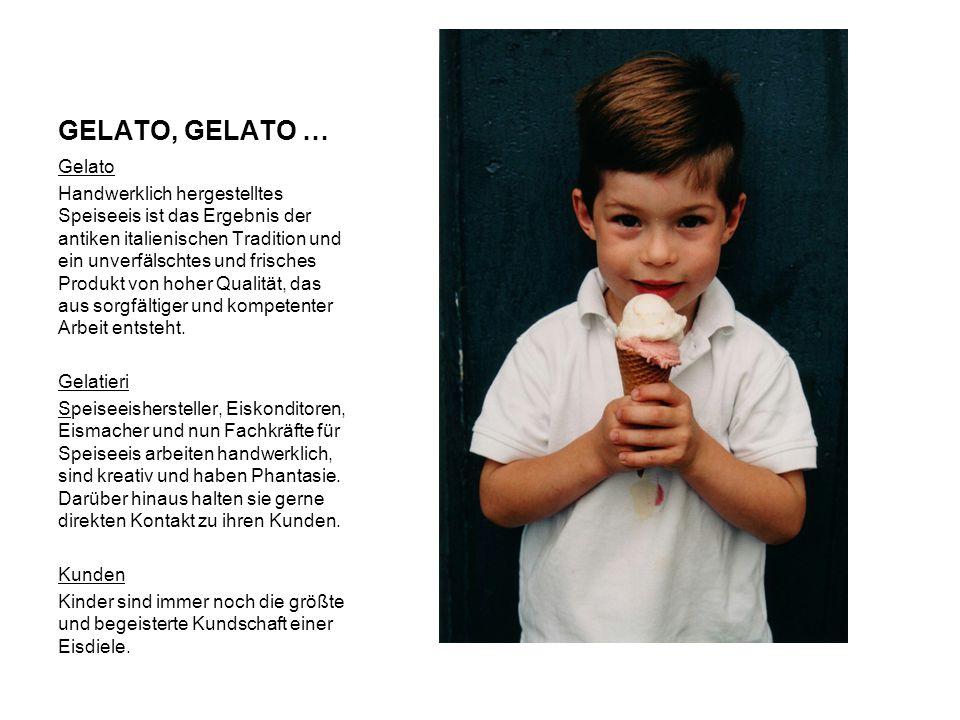 GELATO, GELATO … Gelato.