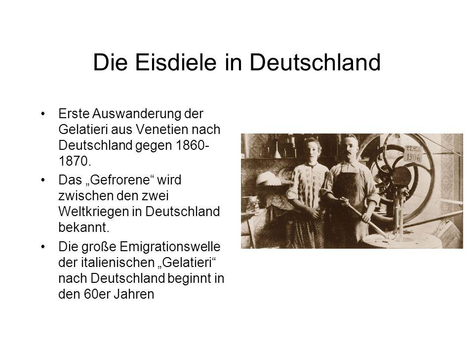 Die Eisdiele in Deutschland