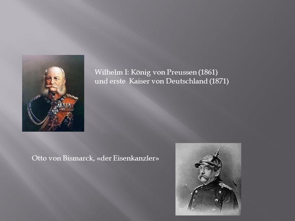 Wilhelm I: König von Preussen (1861)