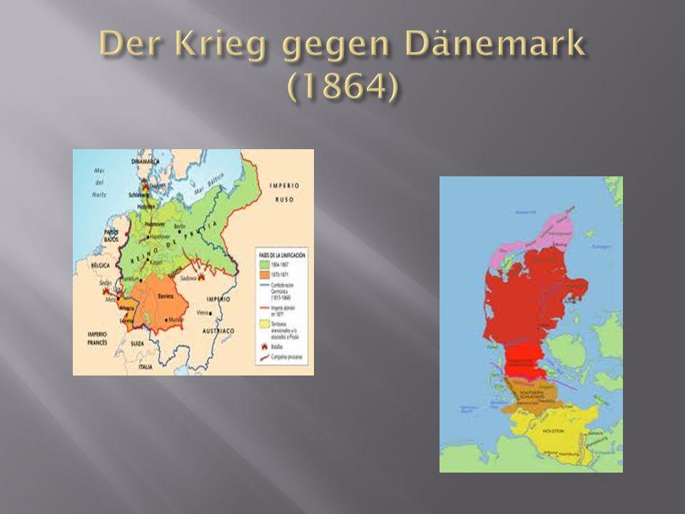 Der Krieg gegen Dänemark (1864)