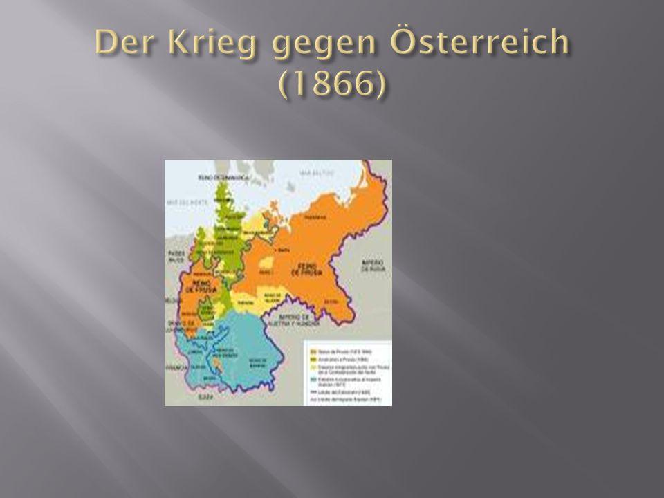 Der Krieg gegen Österreich (1866)