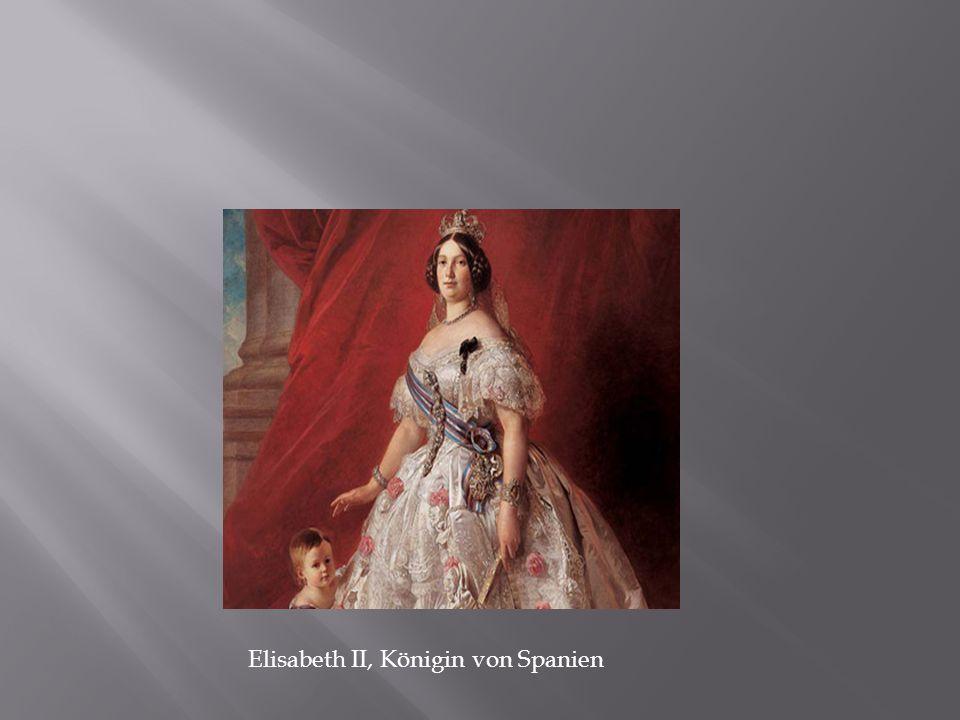 Elisabeth II, Königin von Spanien