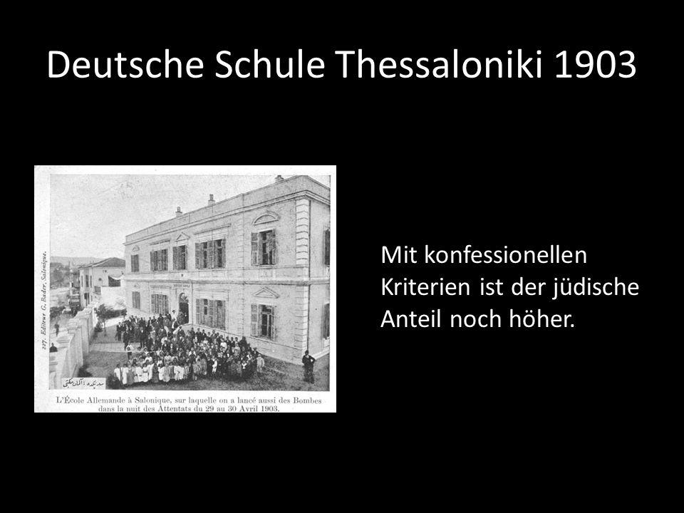 Deutsche Schule Thessaloniki 1903