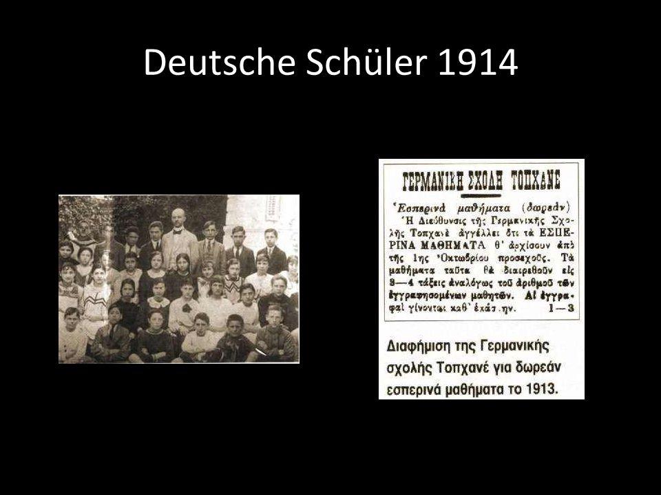 Deutsche Schüler 1914
