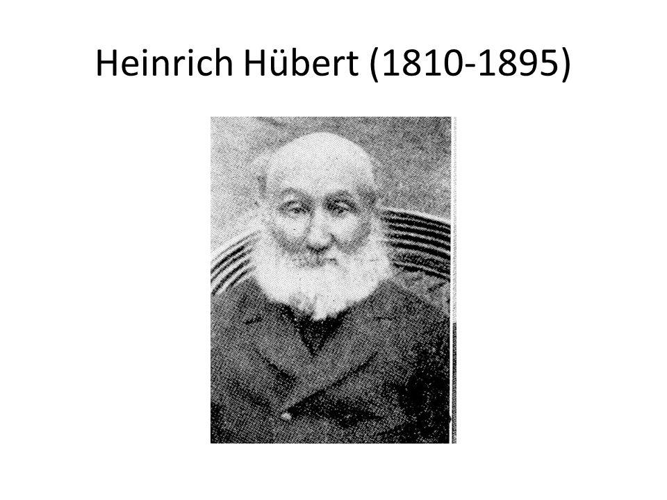 Heinrich Hübert (1810-1895)