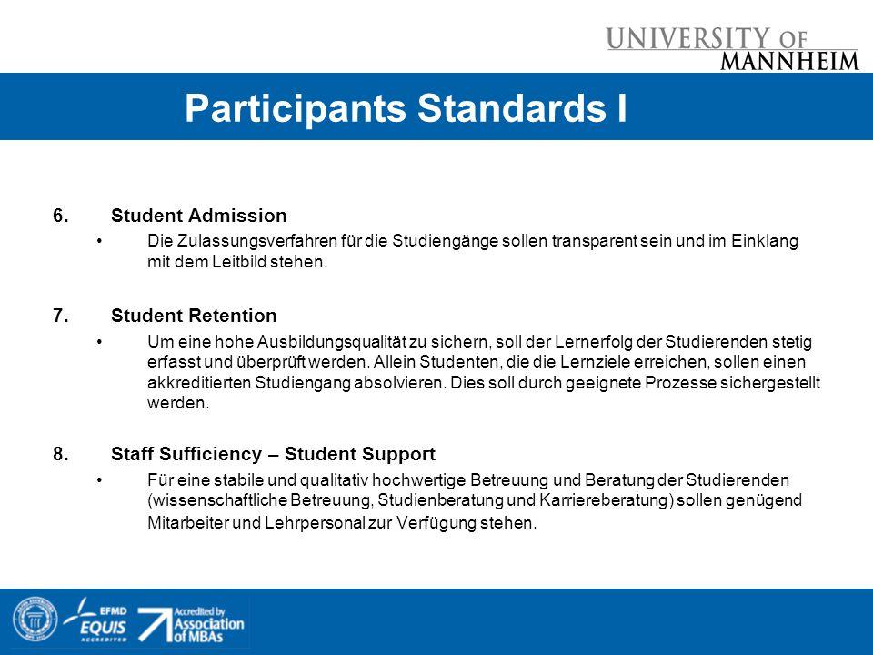 Participants Standards I