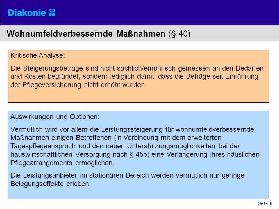 Wohnumfeldverbessernde Maßnahmen (§ 40)