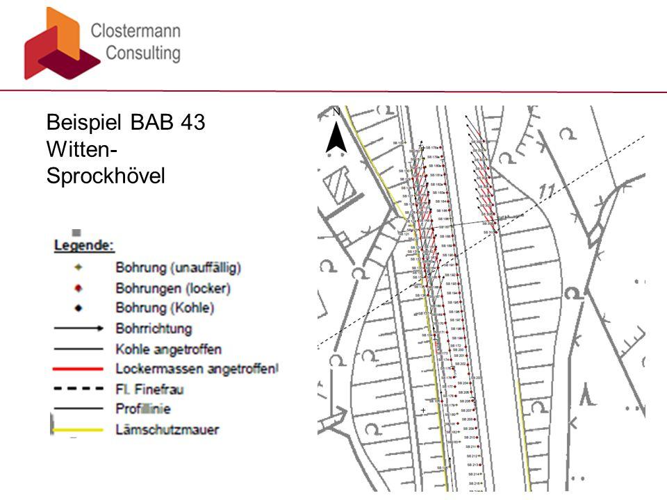 Beispiel BAB 43 Witten-Sprockhövel