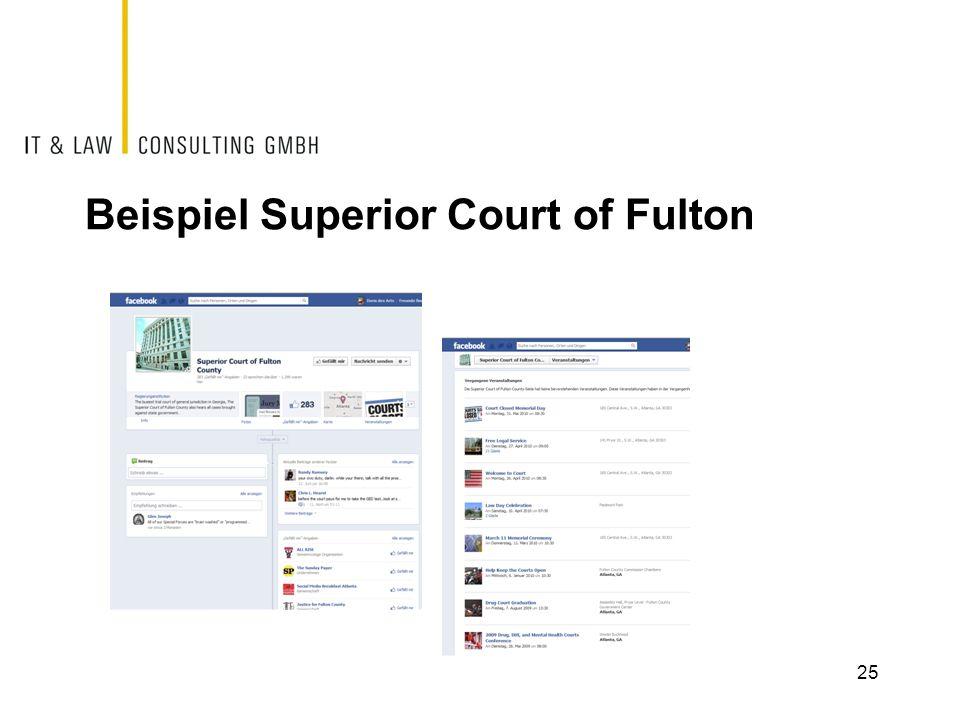 Beispiel Superior Court of Fulton
