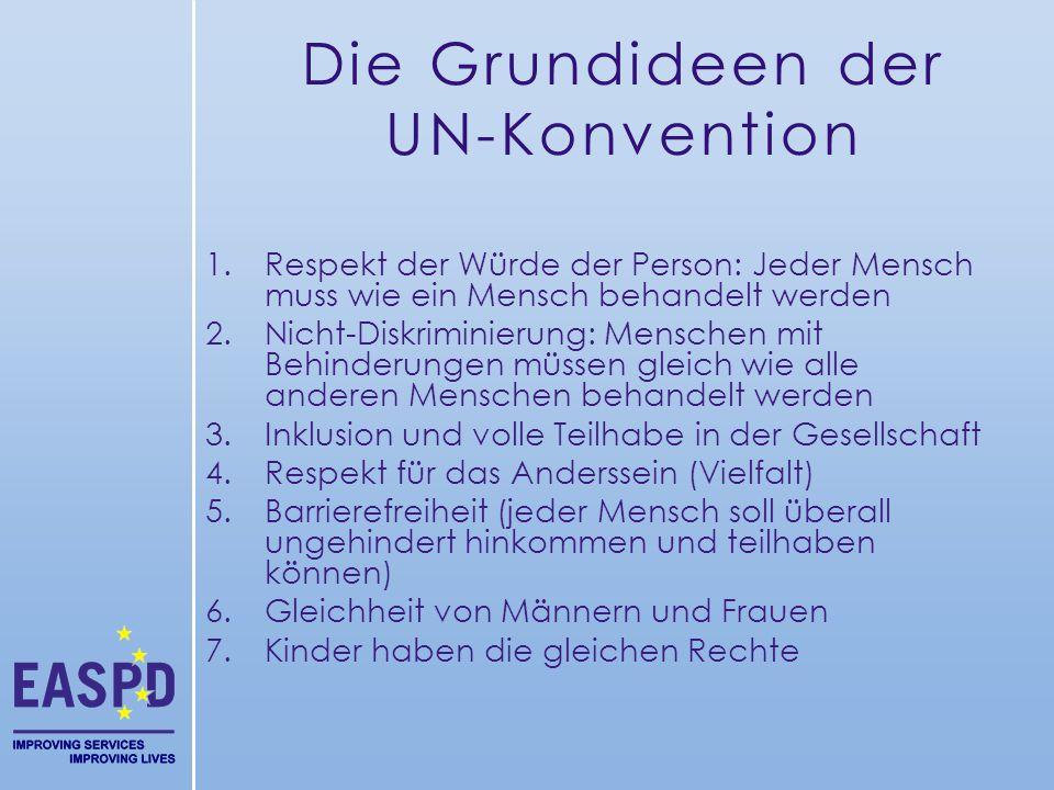 Die Grundideen der UN-Konvention