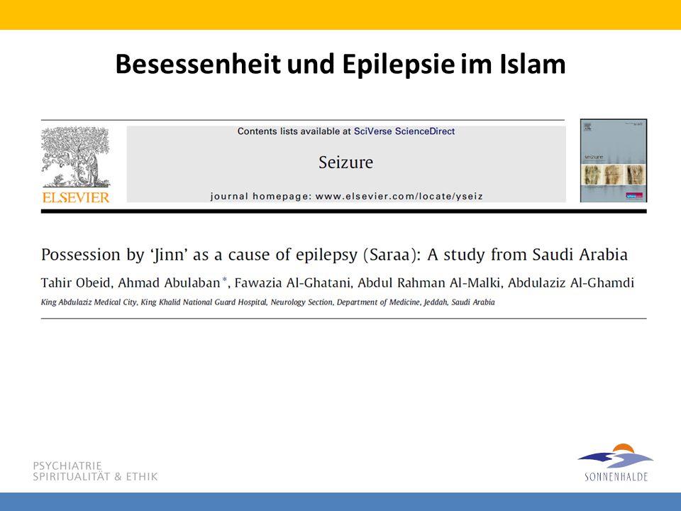 Besessenheit und Epilepsie im Islam