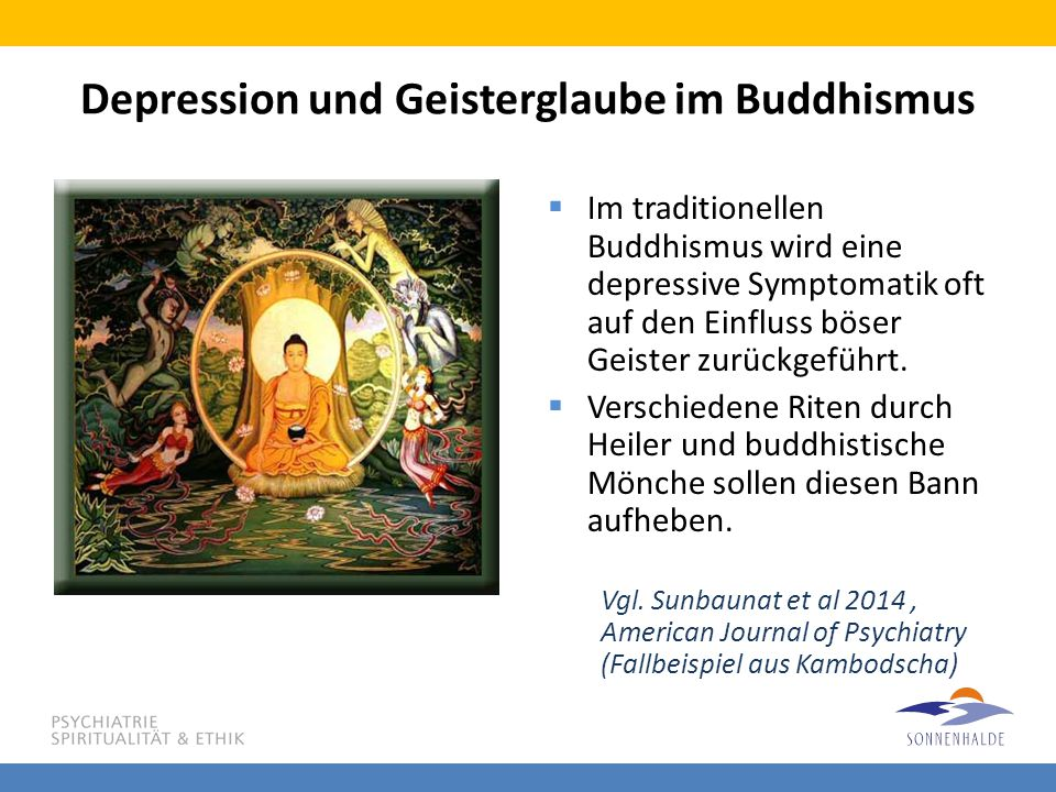 Depression und Geisterglaube im Buddhismus