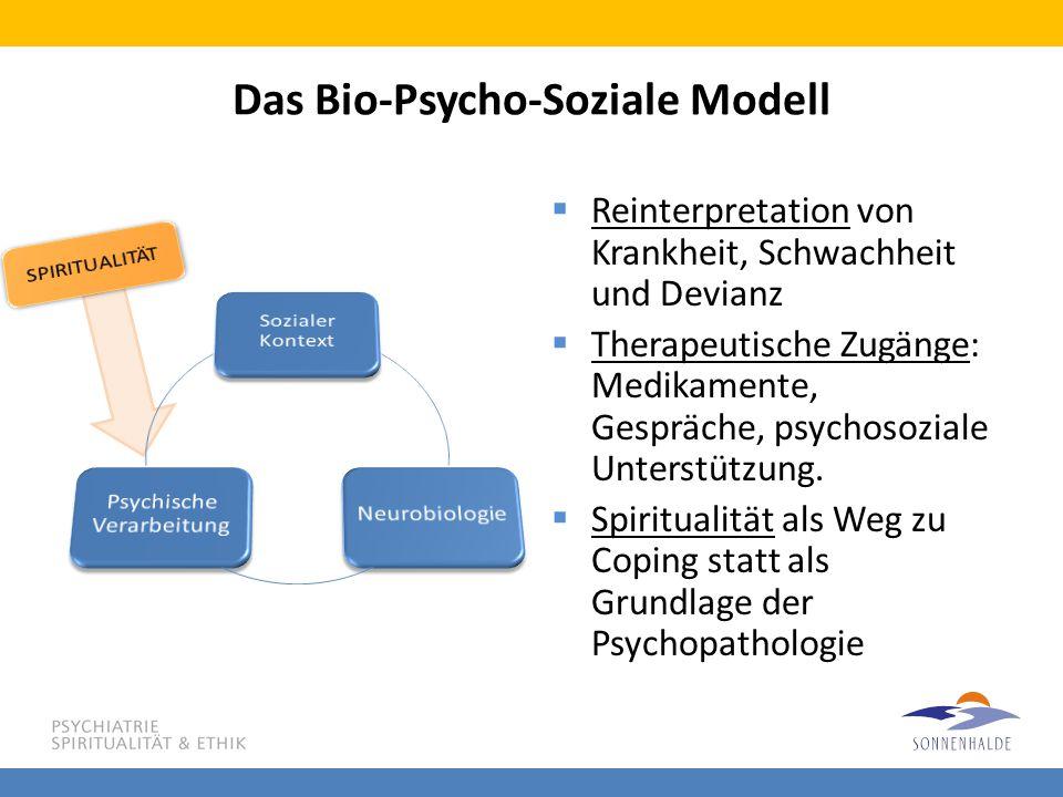 Das Bio-Psycho-Soziale Modell