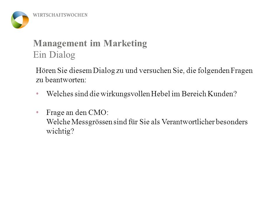 Management im Marketing