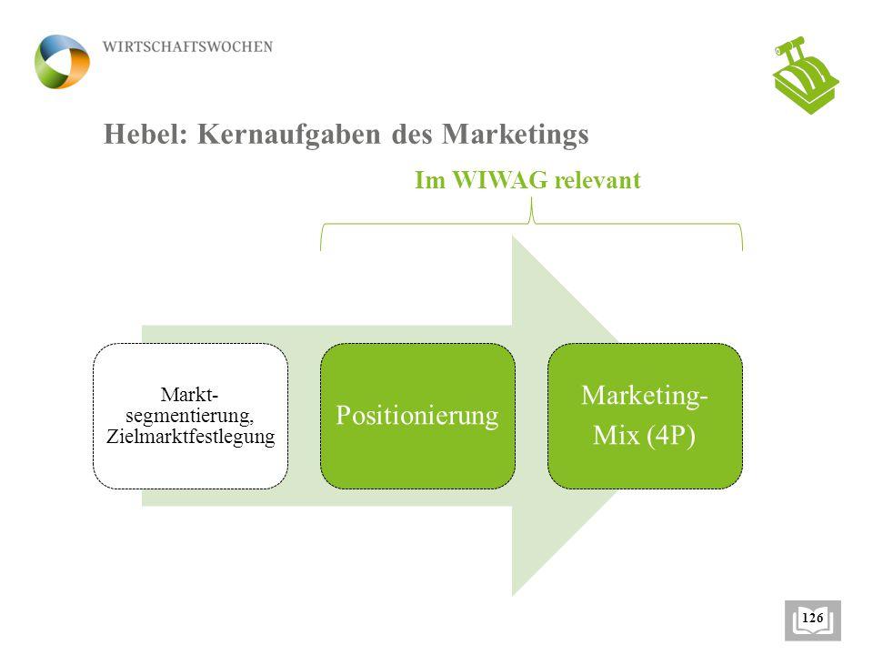 Markt- segmentierung, Zielmarktfestlegung