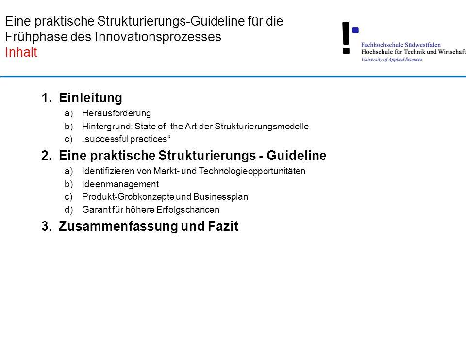 Eine praktische Strukturierungs - Guideline