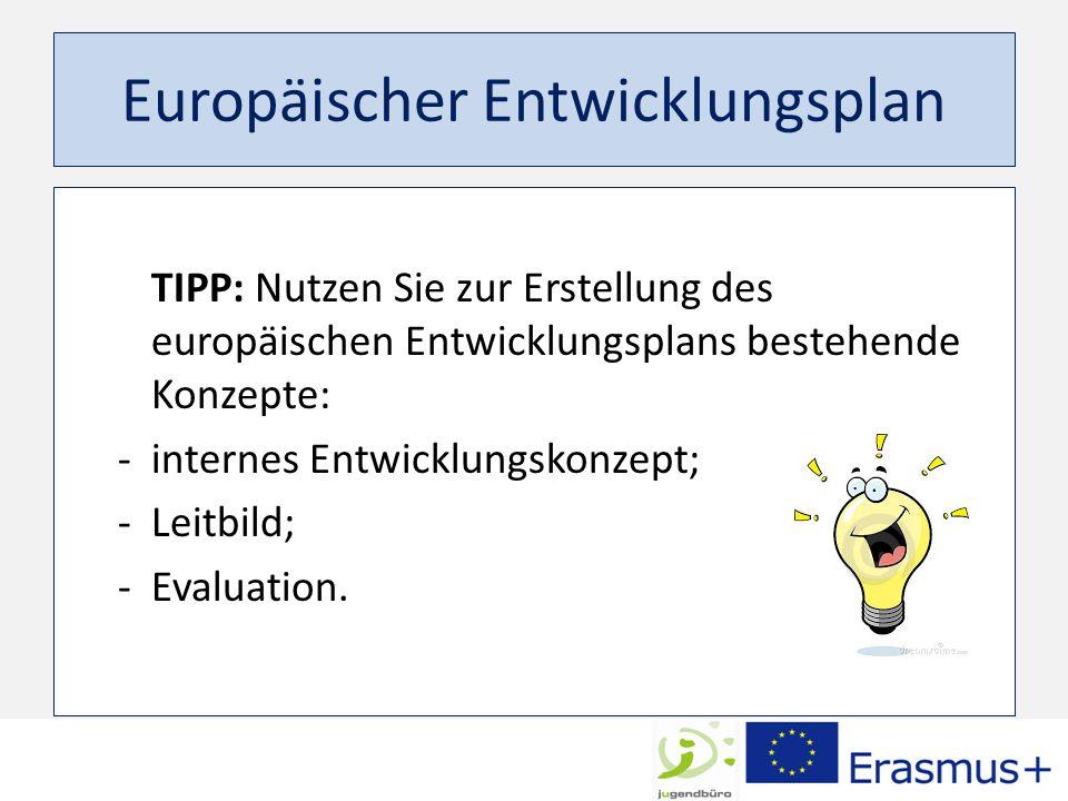 Europäischer Entwicklungsplan