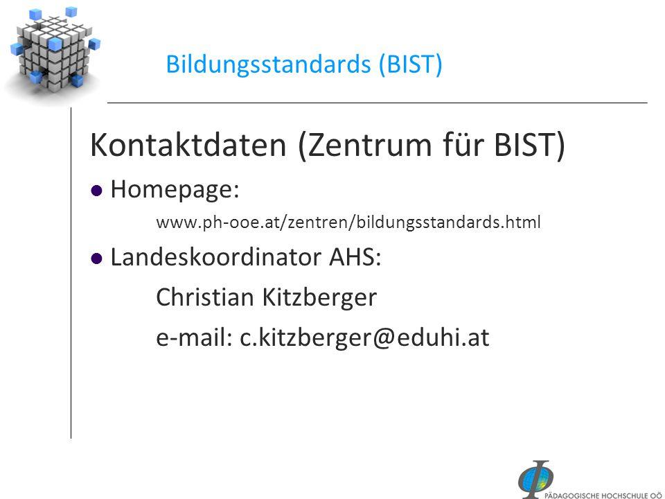 Bildungsstandards (BIST)