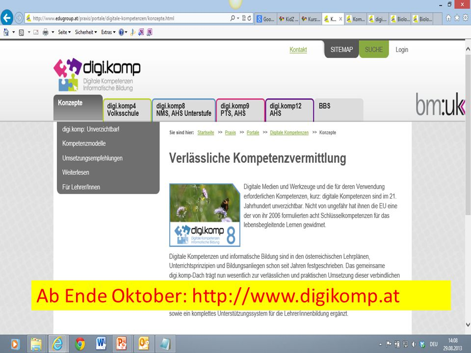 Ab Ende Oktober: http://www.digikomp.at