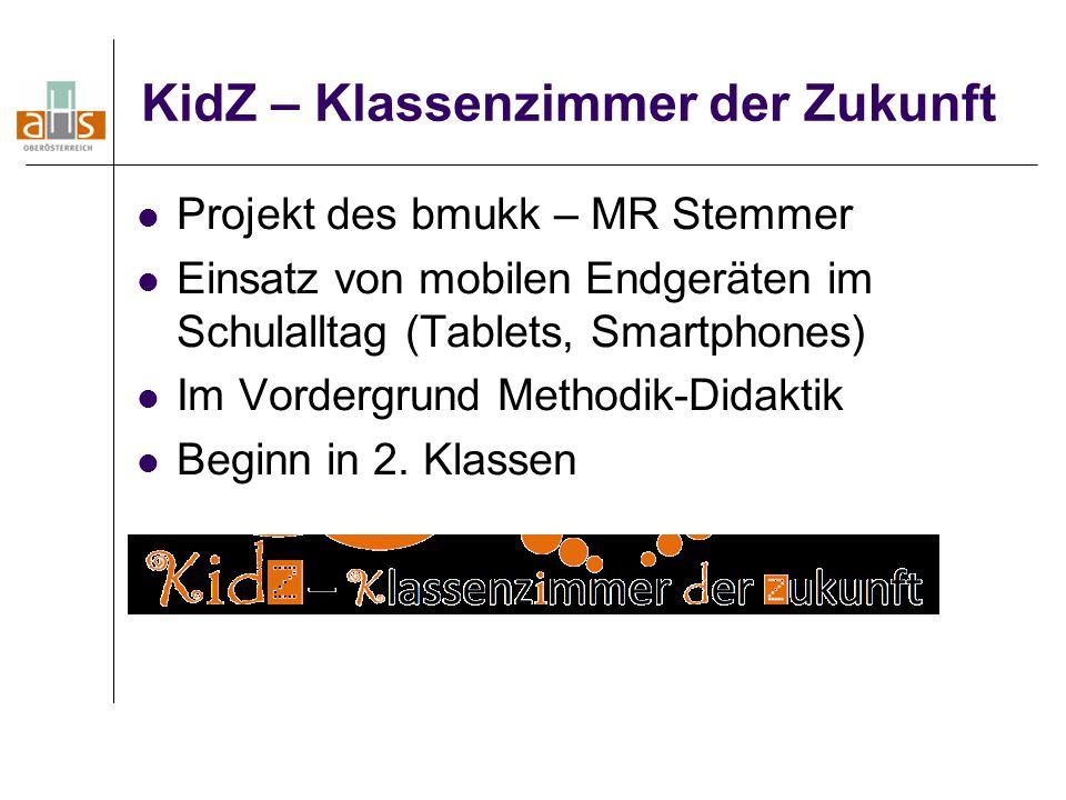 KidZ – Klassenzimmer der Zukunft